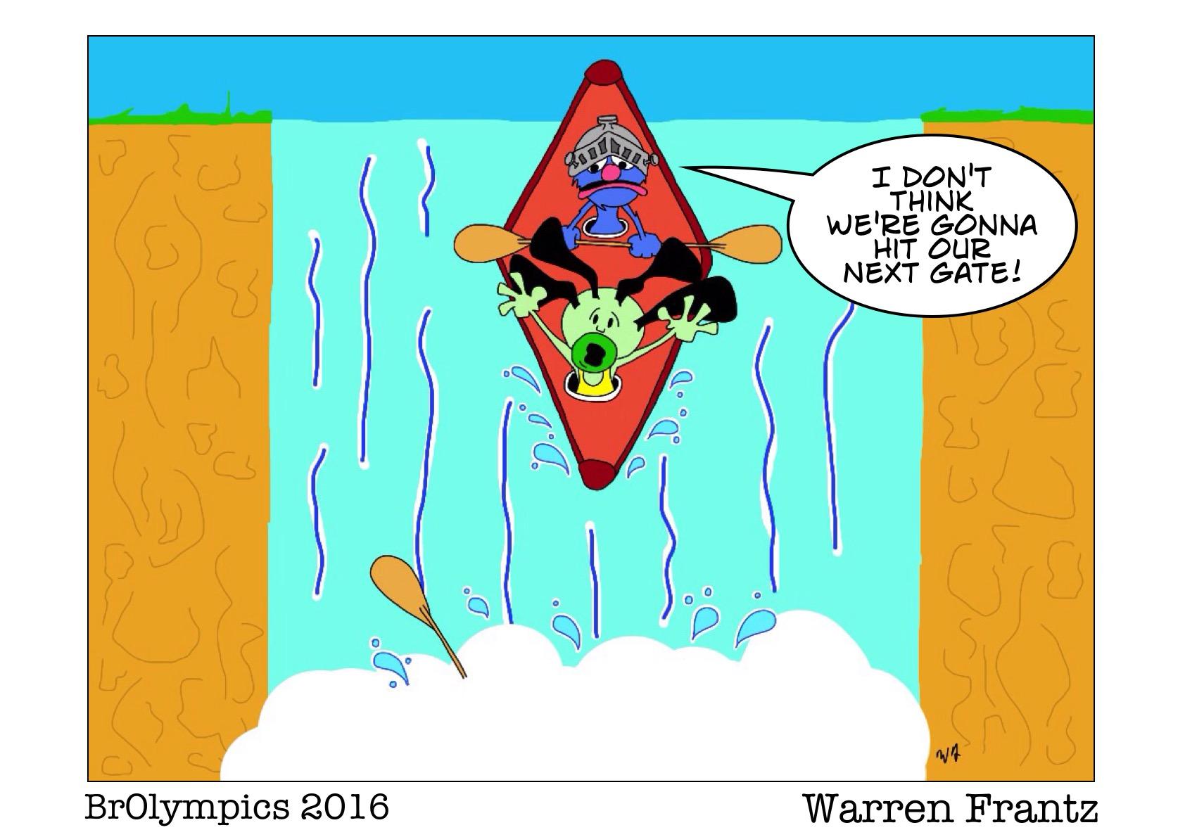 BrOlympics Kayaking