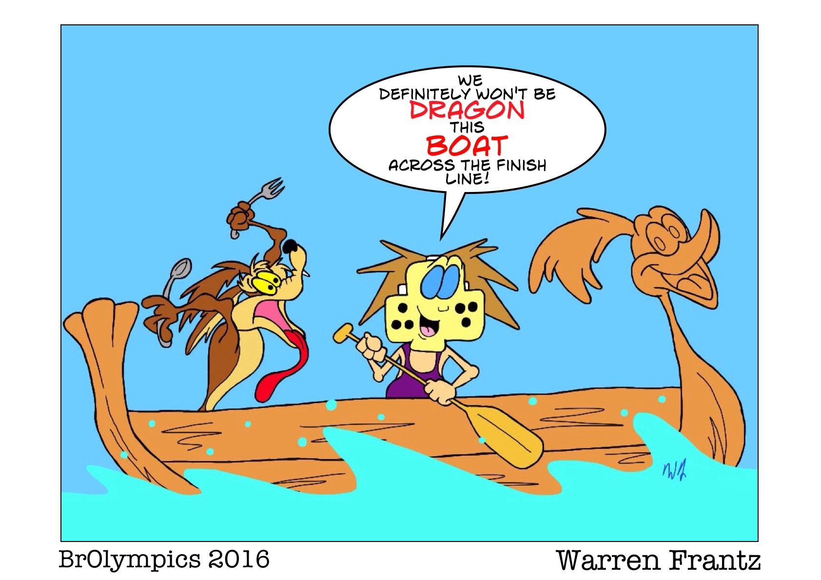 BrOlympic Dragon Boat