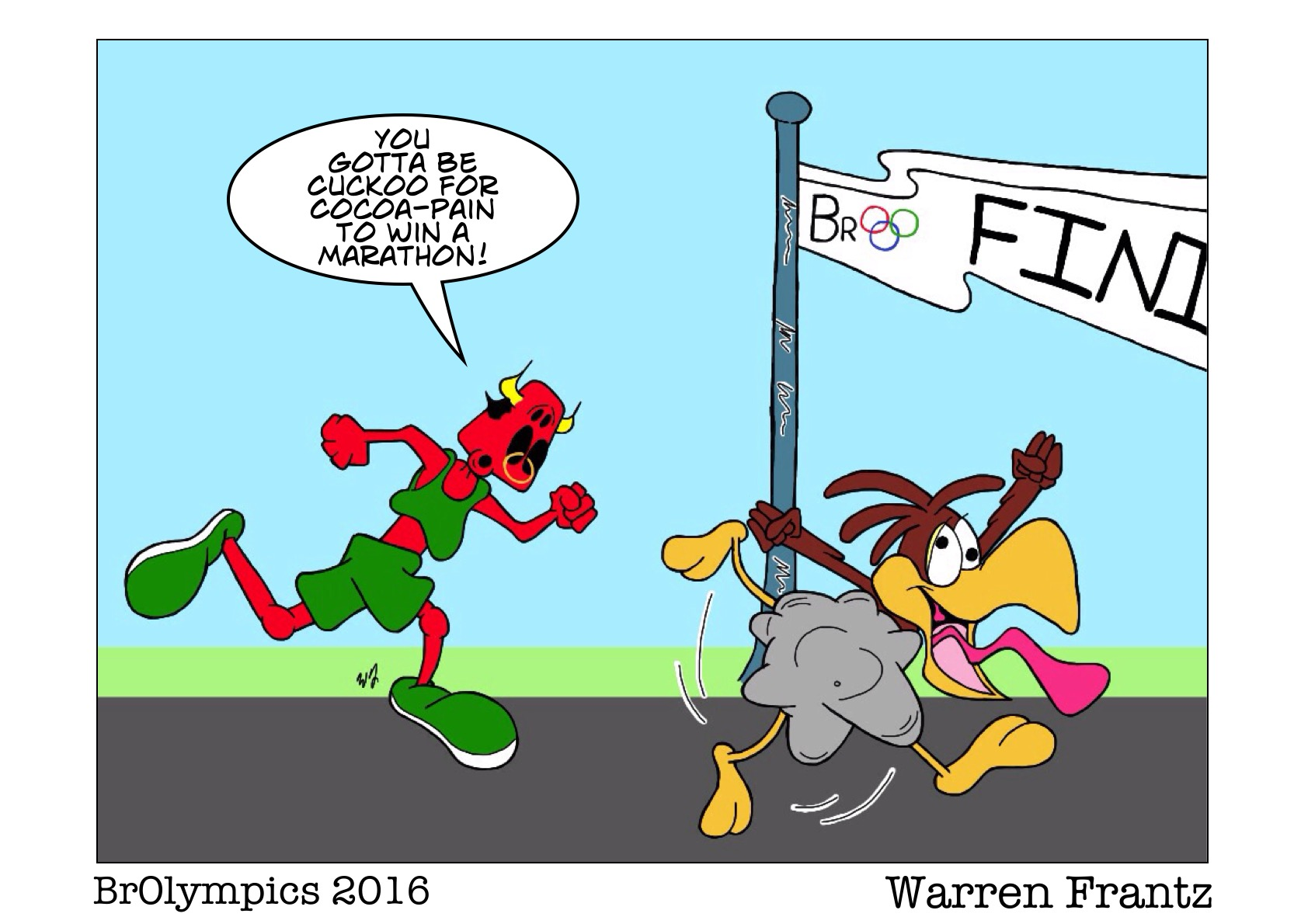 BrOlympics Marathon